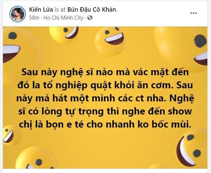 Trang Trần mỉa mai bà Phương Hằng sau phát ngôn 'cấm cửa nghệ sĩ': 'Nghe đến show chị là bọn em té nhanh'