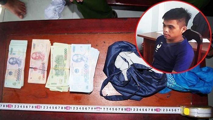 Quảng Nam: Bắt thanh niên trộm 120 triệu đồng của cụ bà bán vé số 91 tuổi