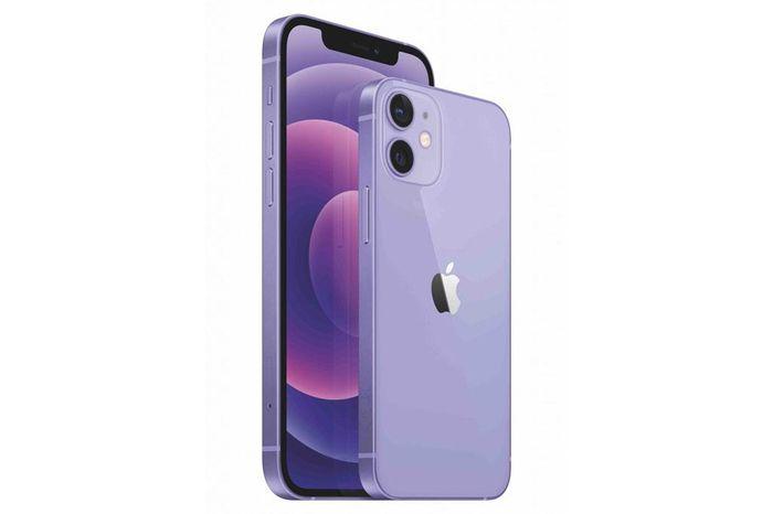 IPhone 12 và iPhone 12 Mini màu tím lên kệ tại Việt Nam