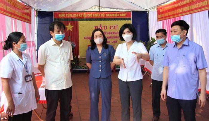 Linh hoạt trong tuyên truyền bầu cử gắn với phòng, chống dịch bệnh