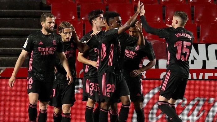 Thắng đậm Granada, Real Madrid tiếp tục cuộc đua vô địch La Liga
