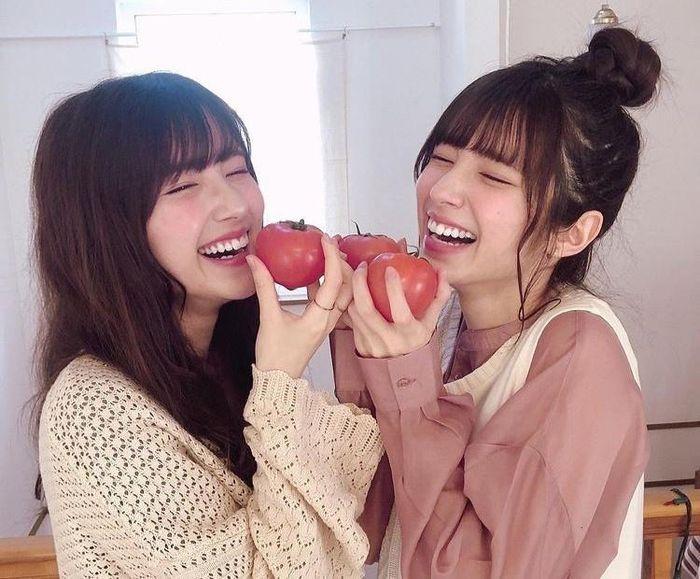 Chị em sinh đôi mang 2 dòng máu Nhật Bản - Iran Ảnh 4