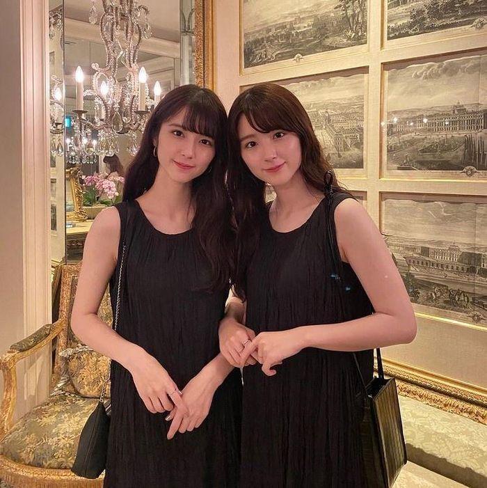 Chị em sinh đôi mang 2 dòng máu Nhật Bản - Iran Ảnh 7