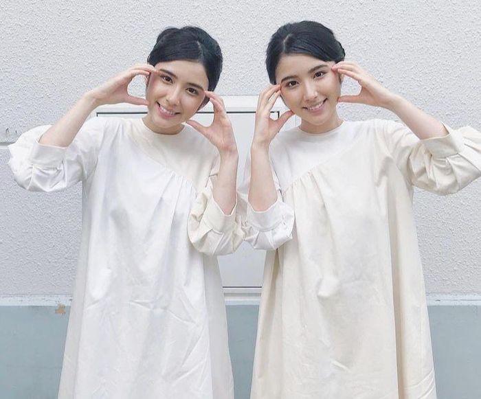 Chị em sinh đôi mang 2 dòng máu Nhật Bản - Iran Ảnh 6