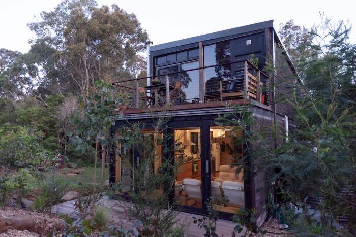 dùng 3 tỷ đồng để biến container xấu xí thành ngôi nhà đẹp ngỡ ngàng