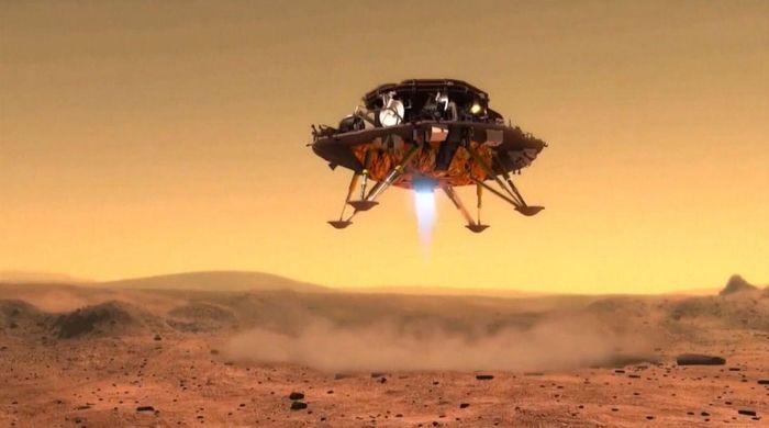 Tàu thăm dò Trung Quốc hạ cánh thành công lịch sử xuống sao Hỏa