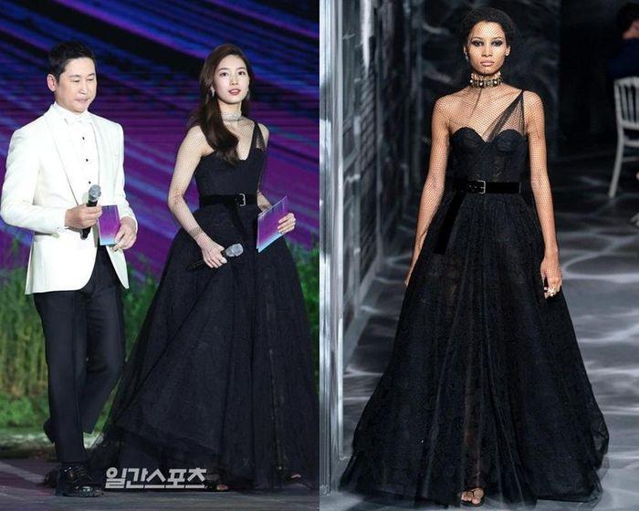 Suzy mặc váy Haute Couture thì bị chê, diện váy Dior bình thường lại được khen hết lời