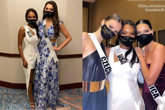 Top 3 thí sinh có chiều cao thấp nhất Miss Universe: Người vui vẻ, người e dè - lảng tránh