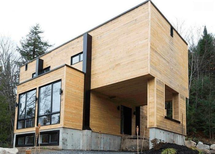 Cận cảnh ngôi nhà 'cực chất' làm từ 4 container
