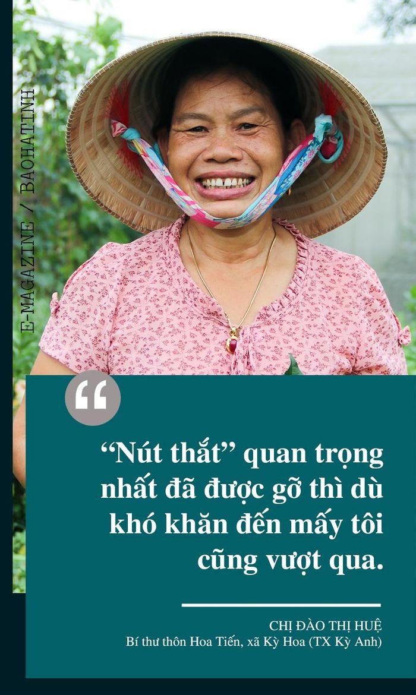 Hành trình 16 năm bền bỉ của nữ bí thư chi bộ một lòng vì dân ở Hà Tĩnh