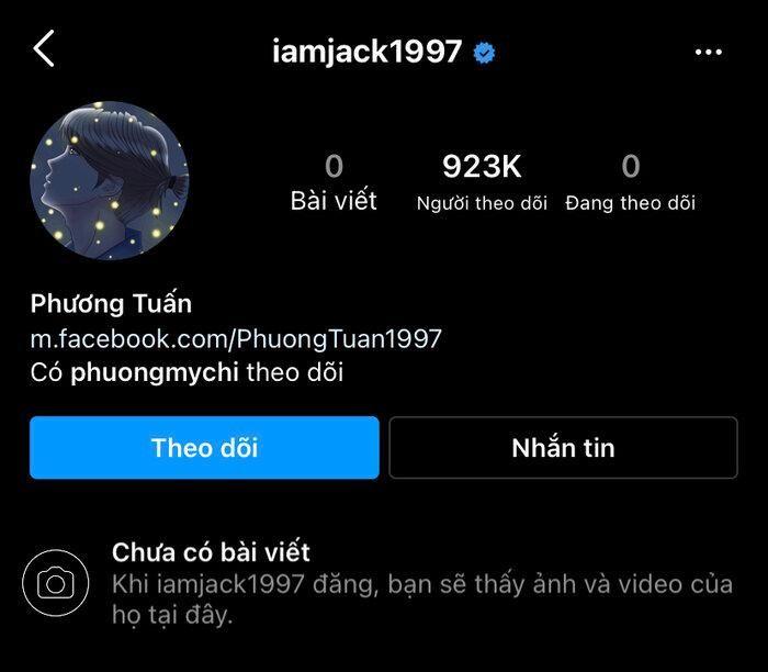 Đang yên đang lành, Jack bỗng dưng ẩn sạch ảnh Instagram: Chuyện gì đã xảy ra?
