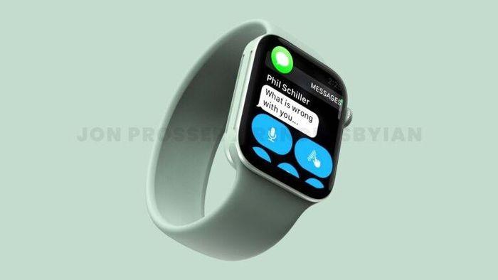 Ảnh render Apple Watch Series 7 hé lộ ngôn ngữ thiết kế trên các sản phẩm của Apple