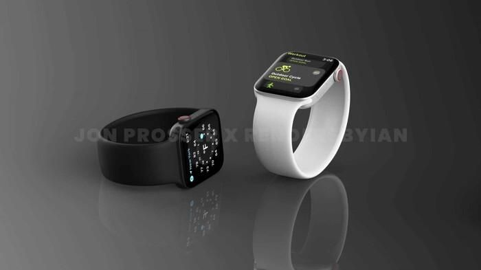 Apple Watch Series 7 lộ thiết kế giống với iPhone 12, loạt màu sắc 'lịm tim' khó cưỡng