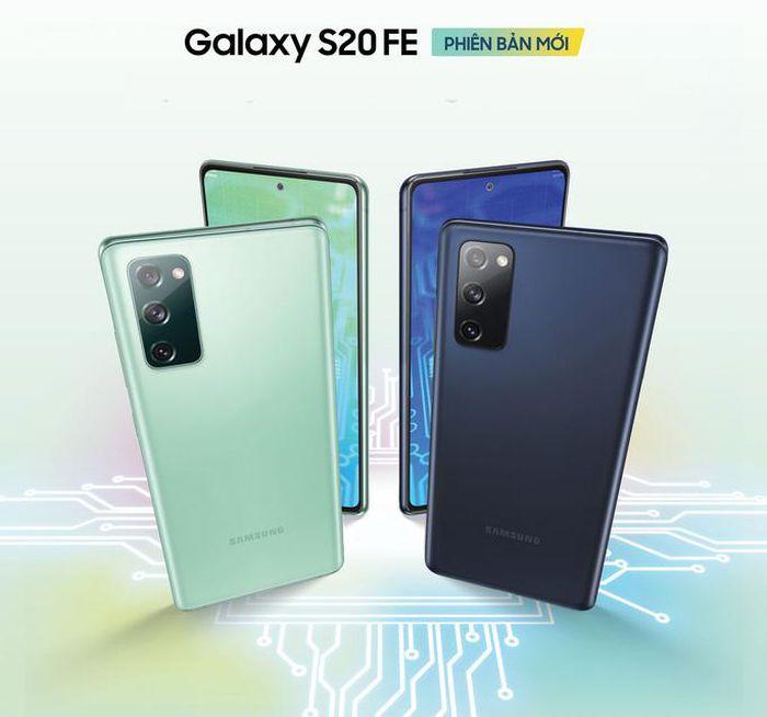 Samsung giới thiệu smartphone Galaxy S20 FE phiên bản Snapdragon 865
