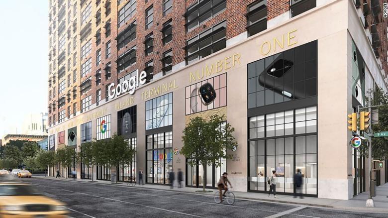 Google sắp mở cửa hàng bán lẻ đầu tiên