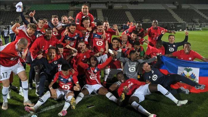 Lille đăng quang Ligue 1, chấm dứt sự thống trị của PSG