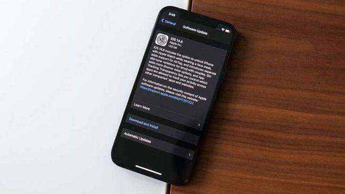Apple tiếp tục phát hành bản cập nhật iOS mới