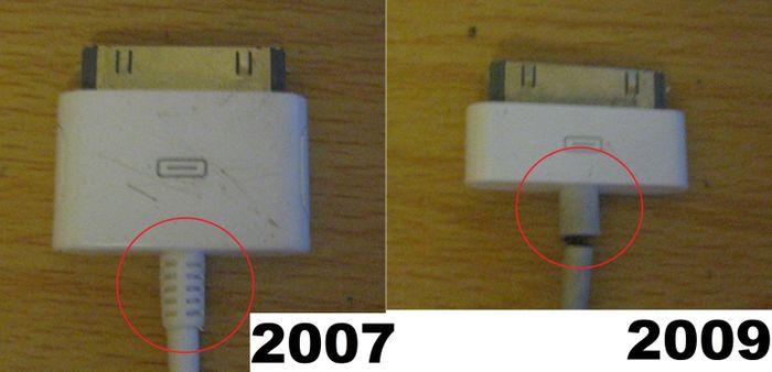 Lý do cáp iPhone dễ đứt