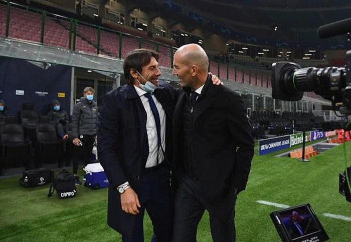 Chia tay Inter Milan, Conte thay Zidane dẫn dắt Real Madrid?