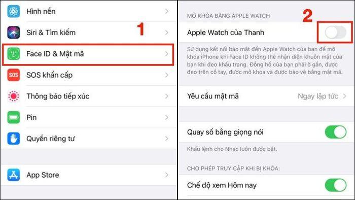 Mẹo mở khóa Face ID khi đeo khẩu trang trên iOS 14.5