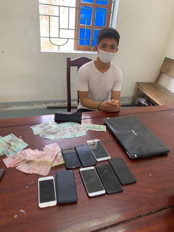 Bắt thanh niên 9X gây ra 20 vụ trộm cắp tài sản
