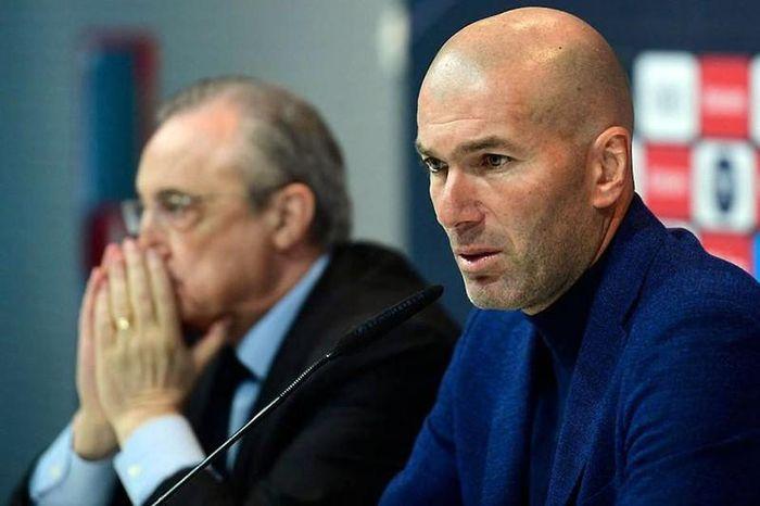 Zidane và niềm tin bị đánh mất ở Real