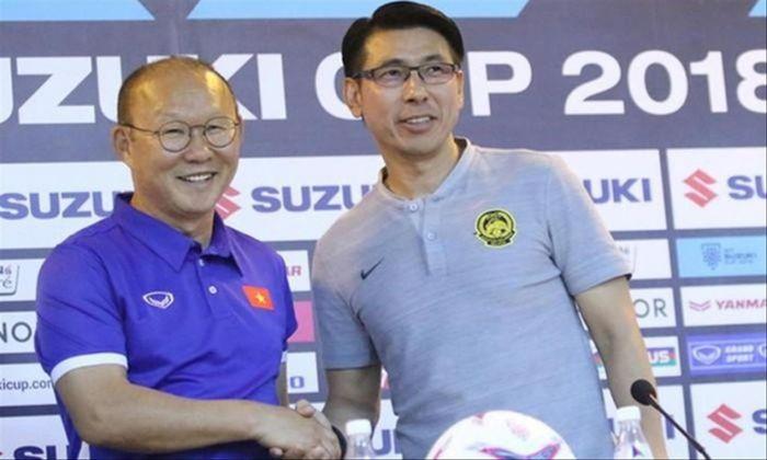 Tỷ lệ đối đầu giữa HLV Park Hang-seo và Tan Cheng Hoe