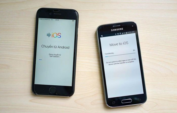 OS 15 giúp người dùng chuyển dữ liệu từ điện thoại Android sang iPhone dễ hơn bao giờ hết