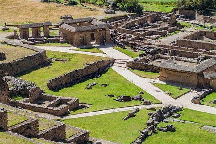 Khám phá bí mật một tàn tích cổ của người Inca