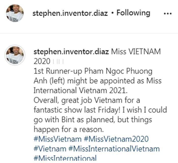 Ê-kíp Miss International mê đắm á hậu Phương Anh: Bấm like 'lia lịa' layout mới của đại diện Việt Nam