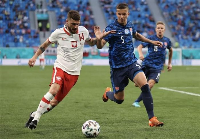 EURO 2020: Lewandowski tịt ngòi, Ba Lan thua đau trước Slovakia