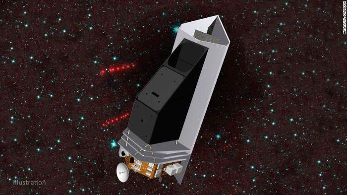 Kính viễn vọng không gian mới phát hiện thiên thạch nguy hiểm