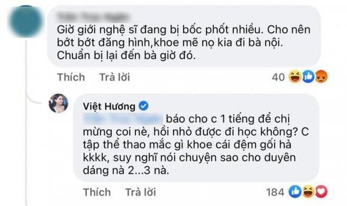 Bị anti-fan 'cà khịa', Việt Hương tuyên bố 'không sợ thị phi' giữa loạt lùm xùm của đồng nghiệp?