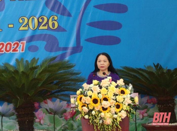 Hội LHPN huyện Thạch Thành phấn đấu trở thành đơn vị dẫn đầu các huyện miền núi