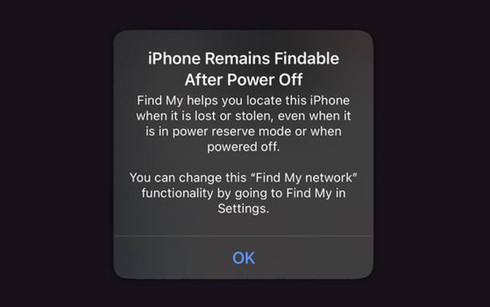 Mẹo tìm lại iPhone ngay cả khi thiết bị đã tắt nguồn