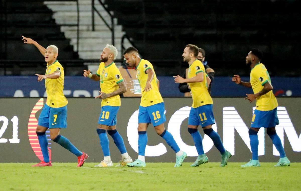 Neymar là tâm điểm, Brazil thắng Peru '4 sao' ở Copa America 2021
