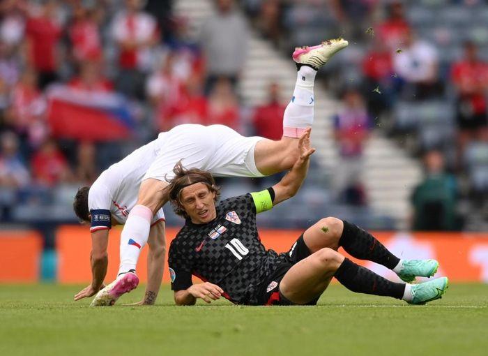 Trực tiếp Croatia 1-1 CH Séc: Perisic thể hiện đẳng cấp