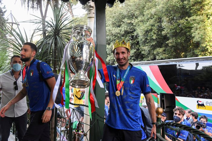 CẬN CẢNH: Màn ăn mừng của đội tuyển Italia tại quê nhà-chungphat casino-casino ở mỹ-TB casino