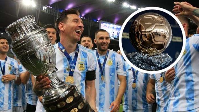 Top 10 ứng viên Quả bóng Vàng 2021: Messi bỏ xa nhà vô địch EURO 2020