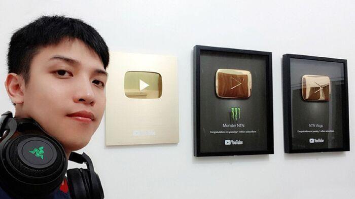 NTN trở thành Youtuber thứ 3 của Việt Nam đạt được nút Kim Cương - Ảnh 1