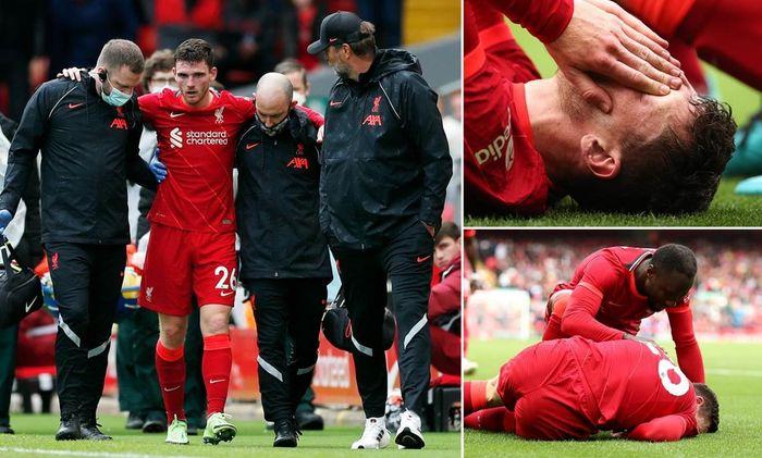 Hậu vệ Robertson dính chấn thương, Liverpool lo sốt vó