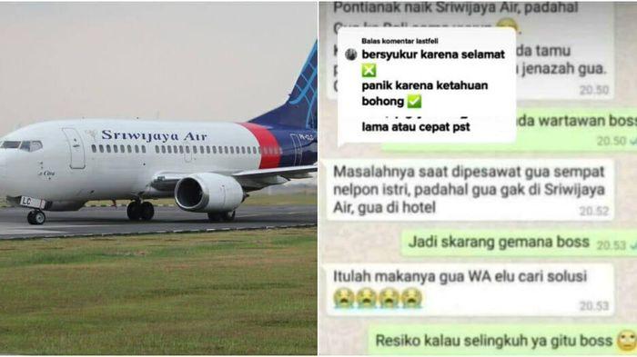 Nói dối vợ để đi chơi với bồ, anh chồng không ngờ trở thành 'nạn nhân' bất đắc dĩ trong vụ rơi máy bay