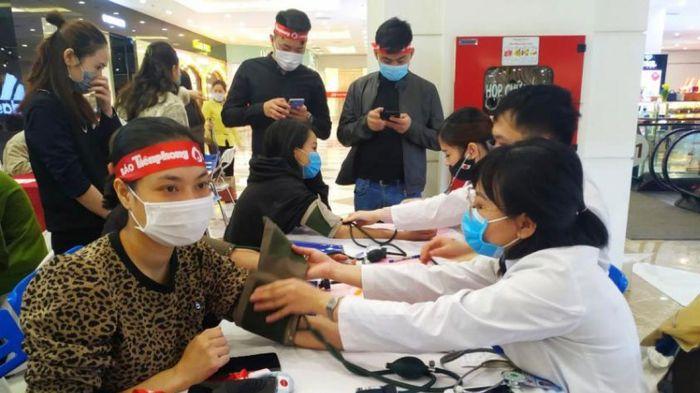 Ngày 'Chủ nhật đỏ Quảng Ninh' thu về gần 500 đơn vị máu