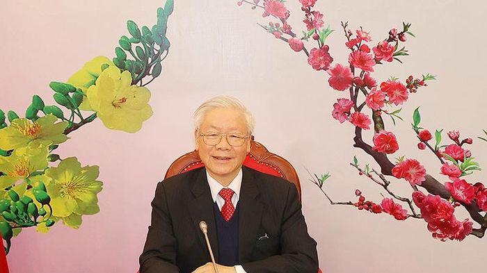 Tổng Bí thư, Chủ tịch nước Nguyễn Phú Trọng điện đàm với Tổng Bí thư Lào khóa XI Thoong-lun Xi-xu-lít