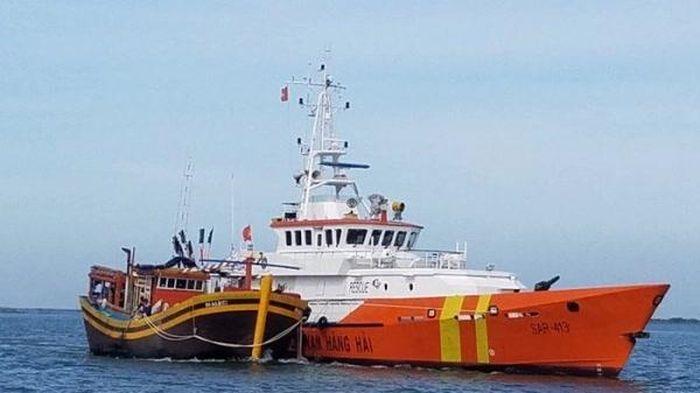 Chìm tàu cá tại Côn Đảo, 7 ngư dân đang mất tích