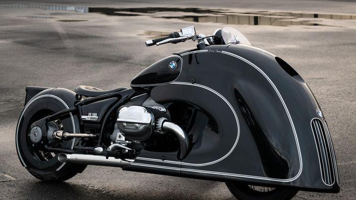 Môtô R 18 được độ lưới tản nhiệt cỡ lớn như ôtô BMW