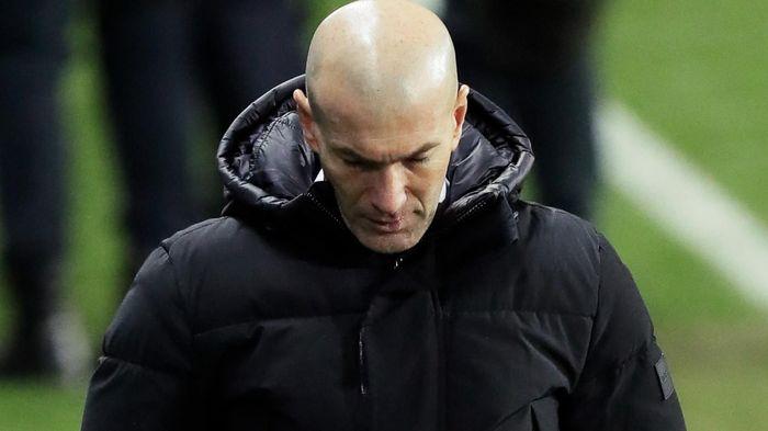 Niềm tin cho Zidane đang dần chạm đáy