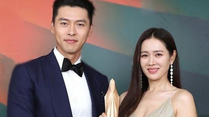 Hyun Bin cảm ơn Son Ye Jin khi thắng giải Daesang
