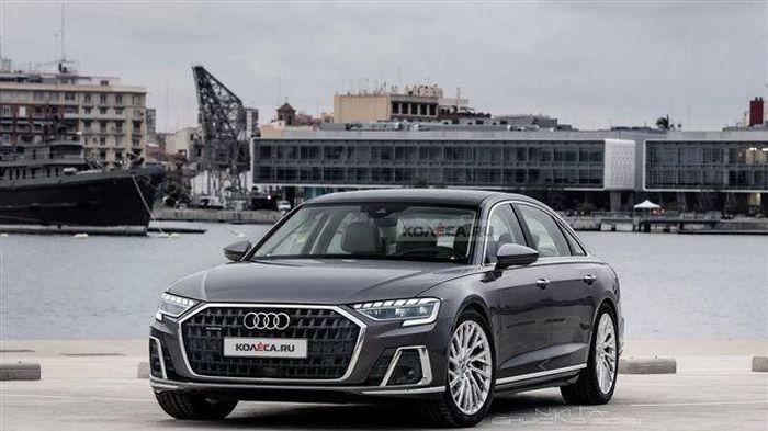 Audi A8 2022 bản nâng cấp sắp được ra mắt