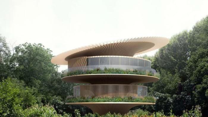 Sunflower, ngôi nhà được thiết kế 'thuận theo tự nhiên' và chống biến đổi khí hậu